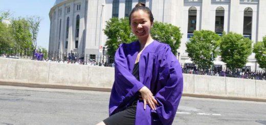 王亭专栏 | 女儿毕业了!纽约大学(NYU)舞蹈系2017年!