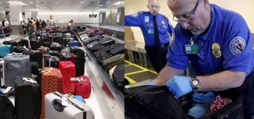 海关大厅行李如垃圾四散 游客痛哭! 美国最严打假启动 专查中国货