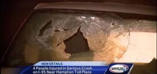 未系安全带!华人高速收费站发生惨烈车祸,1死3重伤