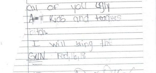 """女童威胁称""""带枪到校"""" 被捕时吓哭 在美国这件事千万不能做!"""