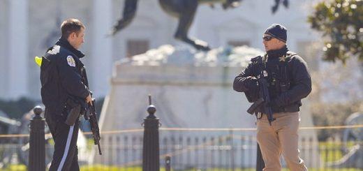 一男子白宫前开枪乱射后自尽 未造成其他人员伤亡