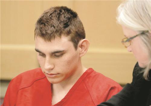 佛州高中枪手被控17项一级凶杀罪 面临死刑