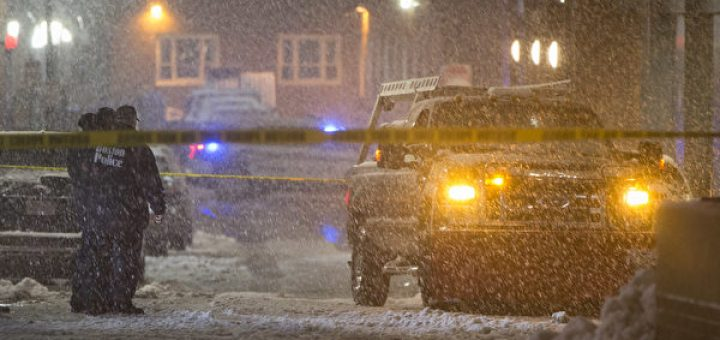 暴风雪袭美东北 100多万户断电3000航班取消