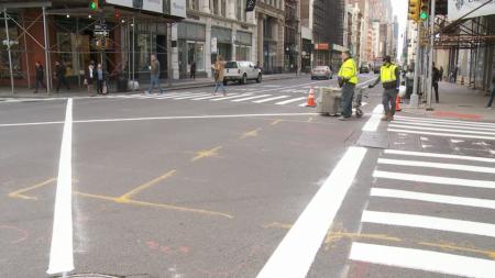 近期去纽约千万小心!警局严查堵塞路口 ,违规面临罚款扣分!
