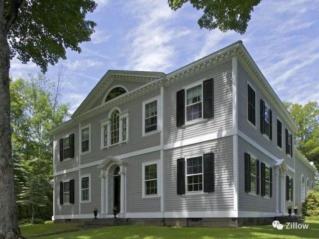 美国住宅风格入门:殖民地风格了解一下?