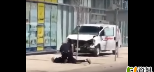 抓捕央街恐怖车祸嫌犯华裔警察走红网络