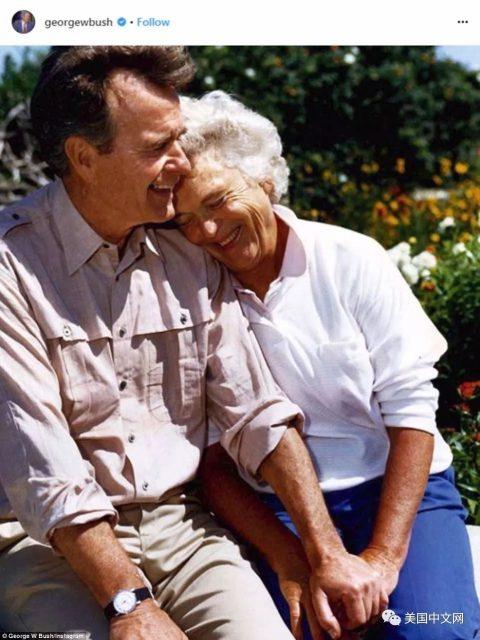 多年邻居忆芭芭拉·布什:碰面一定聊天 会用中文说