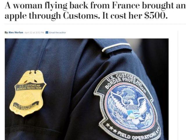 """女子因带这 """"东东"""" 入境被重罚,取消全球入境许可,入境千万别带这些东西"""