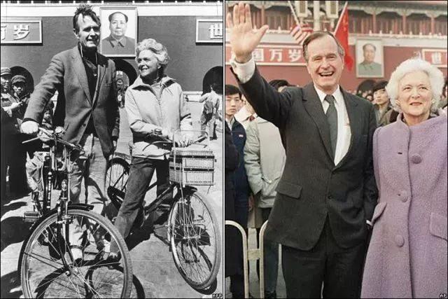 老布什总统夫人葬礼上 亲人致辞竟走欢乐路线