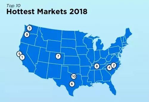 2018美国的华人大本营在哪里?最新热门房市花落谁家?