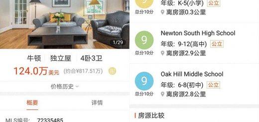 """高考不易!不如让孩子开挂的人生从美国学区房开始?明天(6月7日),高考又将拉开大幕,也是一场""""万里挑一""""的竞赛。  从中国式学区房开始,中国父母为给孩子更好的教育条件,是可以牺牲一切的。  天价学区房就是最好的明证。今年4月,北京西城区地下室卖出1050万高价。  学区房的本质不就是让孩子获得更优质的教育资源?    事实上,对于这些有先见之明的家长来说,他们早已给孩子更多更好的选择——留学。  无论是让孩子成为低龄留学生,还是高考之后去留学。高考一定不会是束缚他们选择的那道坎。  要知道,一所排名比较好的美国高中,常春藤名校的录取率达到10%。当然这类高中申请难度一样非常大。  那么,今天我们来看看美国学区的学区制度?美国学区房比中国容易吗?美国哪些地区拥有更好的学区资源?美国的学区房值不值得买,又该如何买?   孩子,我要求你读书用功,不是因为我要你跟别人比成绩,而是因为,我希望你将来会拥有选择的权利,选择有意义、有时间的工作,而不是被迫谋生。 ——龙应台   ONE美国的学区制度  和中国一样,美国的学区房的概念同样仅针对中小学义务教育阶段的公立教育。  美国法律规定,任何居住在这个学区内的孩子,都享有免费教育的权利。  和中国最大的不同是,美国的学区标准不是产权,而是实际居住。  根据美国的学区制度,家长并不需要买房,只要家庭在对应学区居住,就可入读学校。学校仅仅是看学生是否居住在学区,入学要求仅需要居住证明,比如水电费账单、银行账单等等。  那么要说明的是,有产权但是不住在这里,是不能入学的。当然不排除有人打擦边球,但这其实是违规的,被发现后孩子是可以被开除的。  公立学校的经费来源于各州教育局的拨款(通常占总支出的40-45%),也就是学区内住户所缴纳的房产税。  也就是说,美国公立学校的经费和房产税直接挂钩。通常来说,房产税越高,教育经费越充足,学校相对也越好。  总结来说,美国的学区更像自由市场发展出来的,先有好地方、富人区,后有地产税,然后就有充足的教育经费,然后学校自然成了好学校。  当然如果不喜欢对应学区的学校,孩子可以申请其他学校,甚至跨行政区申请,当然这也就得排在划片的人后面。  如何判定一所学校的好差呢?欢迎点击相关阅读 >>>10分学校变4分!在美国买学区房要注意了!     TWO优质学区房的购买逻辑  和中国一样,美国的学区房一样受欢迎,价格一定也会略高于周边非学区的房源,但是没有中国如此离谱。  如果是投资学区房,你首先要接受的是,学区房的租售比要比非学区房低1-2个点。当然好学区房抗跌能力也要优于非学区房。  美国选购学区房还需要考虑以下几个因素:  治安:考察学区安全与否,一是通过网站查询地区犯罪率报告,二是实地考察,如果街上总有闲人逛来逛去一定是有隐患的。  居民素质:社区的居民素质可以提现这个社区的文化和教育水平,通常可以通过人种构成比例、离婚率、家庭和单身的比例,以及居民的受教育程度等进行考察。  交通:这个包含生活配套、购物、娱乐等,周边是否有高速公路或者大型商场、公园、公共场所等都很重要。比较大部分美国的优质学区房都在城市的近郊。    在淘海房APP上,用户可以很清晰的在房源详情下面看到房源所对应的学校。   THREE买美国学区房容易吗?  每年,有35万学生前往美国留学,其中低龄留学生数量占到总人数的1/3。  由于各种原因,超过90%的中国学生并没有进入美国顶尖的私立高中就读,这也是为何越来越多的家长,通过购买公立名校的学区房获取孩子就读名校的资格。  留学不可否认是中国人海外置业的主要原因。  就连最近,范冰冰被曝光的海外置业,细看买的也都是学区房。  在淘海房用户群中,有用户问,美国买学区房比中国容易吗?  不考虑公平的对比两地的房价,仅仅从价格本身来看,  不同于中国好的中小学位于市中心,无论是纽约还是旧金山,好的公立学校大多分布在近郊区。不过,购买一套学区房的价格仍然需要200万美元左右,并不便宜。此外家长每年还要支付1-3%的地税。  即便如此,与国内动辄十几二十万一平米的学区房相比,美国的学区房仍然更具性价比。  当然对于预算不多的中国家长来说,可以选择房价更便宜的城市购买学区房。  2018年北美学区房投资报告数据显示,在加州或者纽约就读同等级水平的高中,区域内的房价将会是芝加哥或者得州地区的三到六倍。 >>>相关阅读:计划海外留学?不妨先到这里看看!   与国内一线城市的学区房相比,美国的学区房则并没有那么贵。  Q&A  @砖  美国西部不如东部高中教育质量高?  淘海房:任何一个地区都有好学校也都有差学校。学校的学术氛围并不会因为地域受到限制,整体来说,美国教育资源分布均衡,每个区都有非常好的高中和大学。  东部学校的历史普遍长于西部学校,这个可能让"""