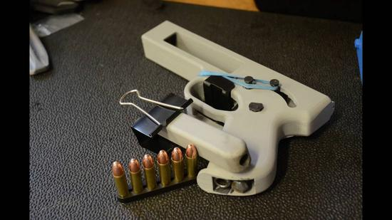 美国3D打印枪支即将合法化,21个州炸了!