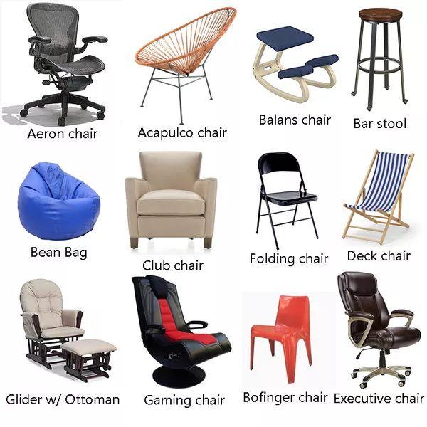 各种家具单词傻傻分不清楚?常用家具英语小百科来了!
