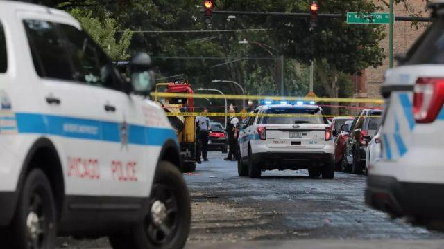 美国这个城市变战区,14小时44人中枪5死!