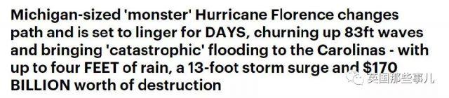 超级飓风来袭,150万美国居民紧急撤离…然而飓风泄气了…