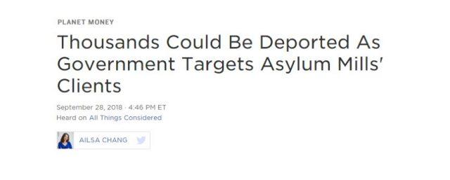 """突发!美国政府准备遣返上万名""""中国难民""""!"""