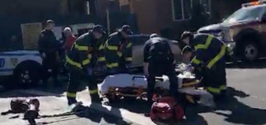 纽约华人老人骑电动滑板车砸撞身亡,警方称系意外