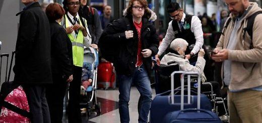 冬季风暴影响持续 全美800多航班取消 伊州20万户停电