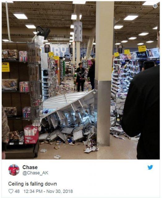 阿拉斯加最大城市发生7级地震 州长宣布灾难状态