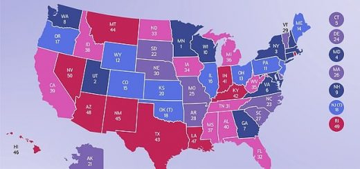 美国慈善地图出炉 内华达排名最末 最慷慨的州竟然是…