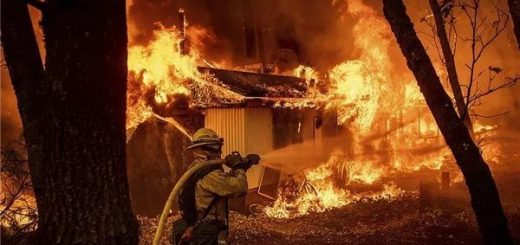 金·卡戴珊、Lady Gaga都逃走了!美国南加州山火烧到了豪宅区!