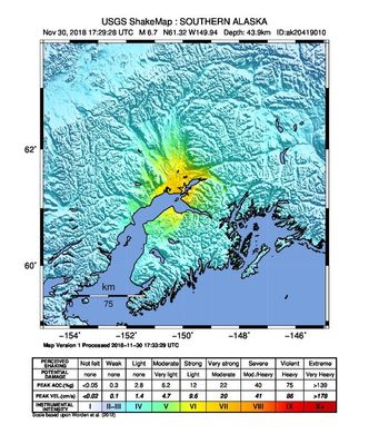 阿拉斯加最大城市发生7级地震 州长宣布灾难状态 引发海啸警报