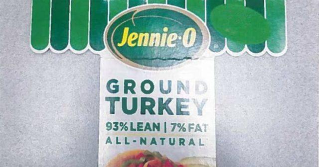 加州16人中毒 逾16万磅Jennie-O火鸡肉召回