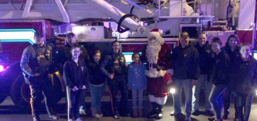暖心!新泽西当地的圣诞怪杰将一家人的礼物偷走后,警方为其捐赠礼物