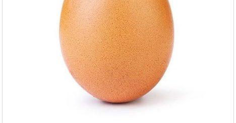 """3000万人点赞!这张""""鸡蛋照""""击败网红 成为Ins上最热门的图片"""