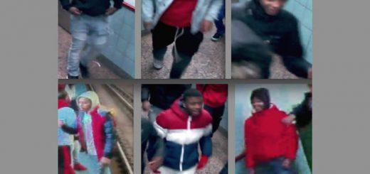 两华人捷运站遭50名青少年围殴 华男被打到眼窝骨裂