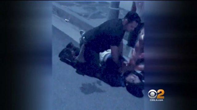 洛杉矶华男被休岗消防队员锁喉至昏迷 获赔7百万