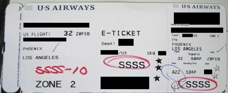 """你的登机牌上如果有这个神秘记号 那么""""恭喜""""你,你被盯上了!"""