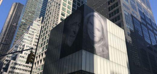 纽约富豪市中心高挂新婚妻子美照 只为气前妻?