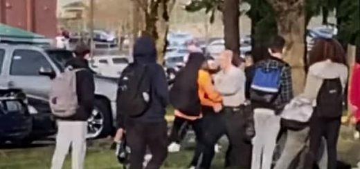 华州温哥华市一中学发生暴动