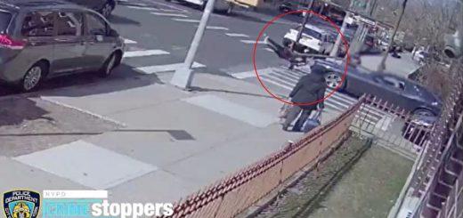 华裔女生被冲红灯车撞伤 警悬赏2500元辑逃逸司机