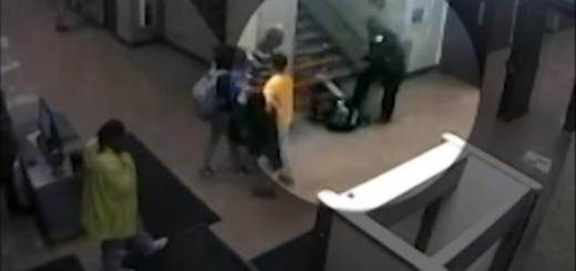 芝加哥警察暴力拖拽殴打高中女生 只因上课玩手机?
