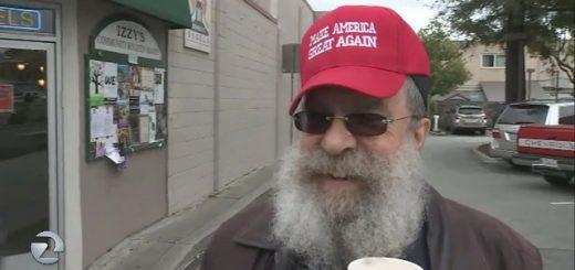 南湾一老人头戴MAGA帽遭霸凌 引发公众关注反弹
