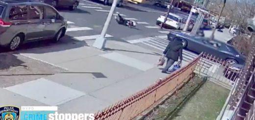 14岁华童八大道被撞飞 肇事司机逃逸