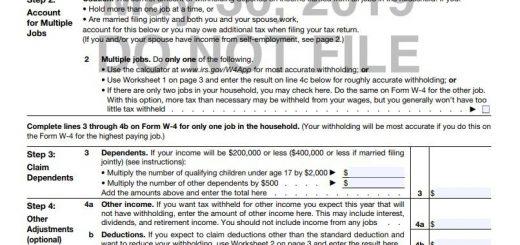 简化报税 财政部和国税局发新版W-4表格草案