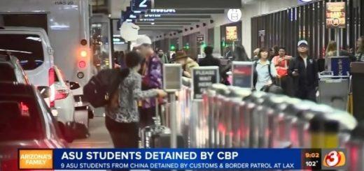 """校方回应""""9名中国留学生被遣返"""":他们目前""""在线学习"""""""