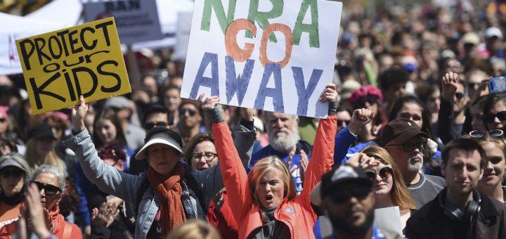 """被列为""""国内恐怖组织"""" NRA状告旧金山市"""