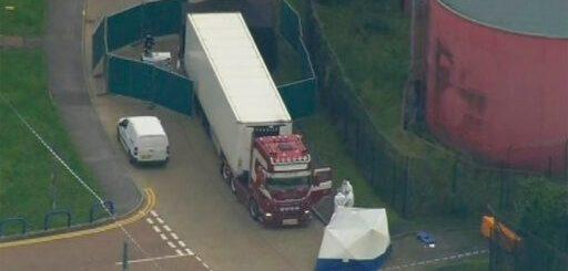骇人!英国卡车集装箱惊现39具尸体 25岁司机被捕(图)
