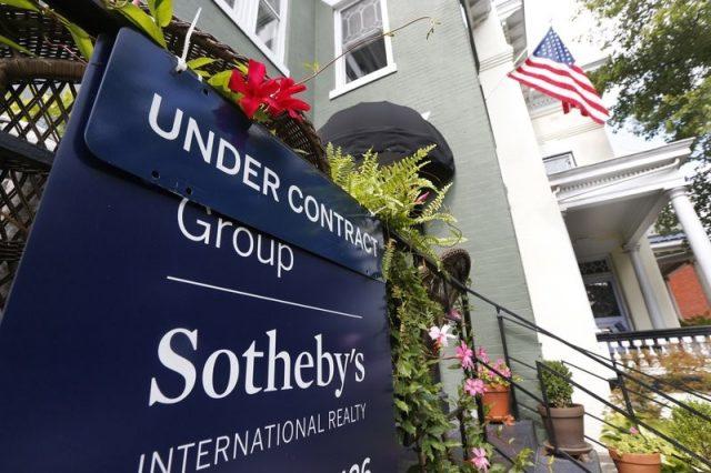 美楼市回暖?9月竞价房屋比例环比上升
