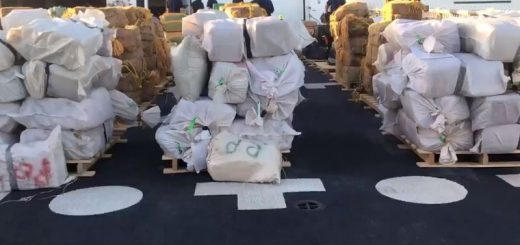 价值$3.77亿!海岸警卫队缴获19吨可卡因、大麻