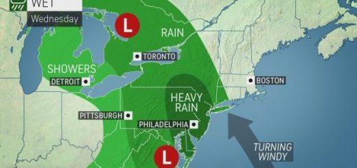 冬天要来了!风暴东西夹击美国,周末多地降水降温