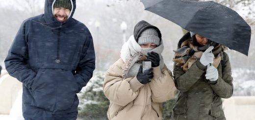 冬季风暴袭美 约两亿人或受历史低温困扰