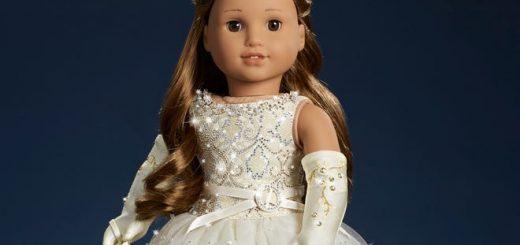 """""""美国女孩""""将推出限量水晶娃 全球仅三个"""