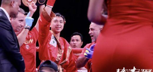世界拳王徐灿加州客场二次卫冕成功