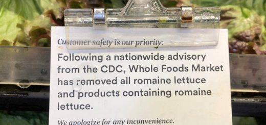 大肠杆菌疫情警报:不要吃任何来自加州这个地方的生菜!