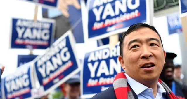 华裔总统参选人杨安泽提倡大麻合法化